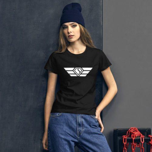 Swift  Diamond Wings (White)  t-shirt