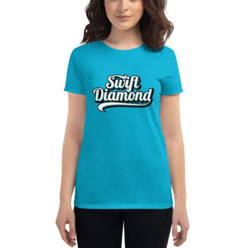 Caribbean Blue Women's T-Shirt