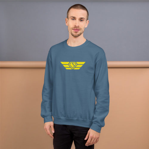 Men's Sweatshirt Yellow Swift Diamond