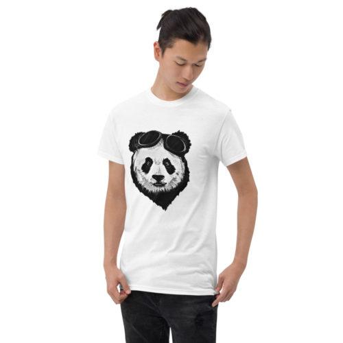 Men Short Sleeve T-Shirt Panda